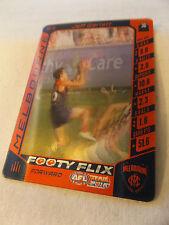 MELBOURNE DEMONS -  Footy Flix Card - Jeff Garlett