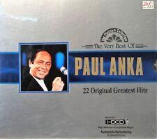 PAUL ANKA - THE VERY BEST OF PAUL ANKA 22 ORIGINAL GREATEST HITS CD