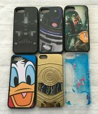 Lot of iPhone 5s Used Cases Disney D-Tech Star Wars Boba Fett Vader R2D2 Donald