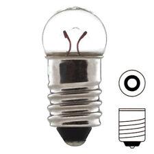 AMPOULE 6V 2.4W E10 A VISSER ECLAIRAGE MAISON LAMPE CHANDELIER MINIATURE EDISON