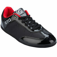 ETO Gregson Classic Trainer Sizes 6-11 Black Brand New Last Few Pairs
