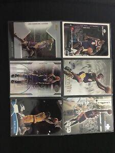 Kobe Bryant 6 Card Lot From 1994-20 Stadium Club, Fleer, Upper Deck NrMint - Mt