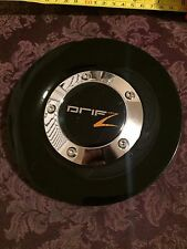 1 Drifz Wheels Chrome and Black Center Cap Part# LC63B LC63A Stock# 684