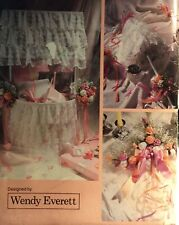 VINTAGE 1988 BUTTERICK WEDDING ACCESSORIES SEWING PATTERN 6277