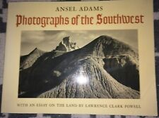 1985 Ansel Adams Photographs Of The Southwest Essay art book Softcover