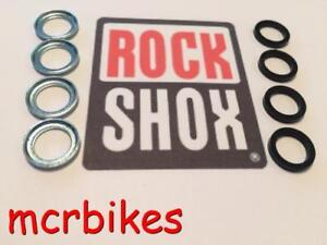 ROCKSHOX 8mm Crush Washers & Retainers Pike /Tora /Revelation /Boxxer /Lyric Etc