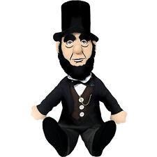 Abraham Lincoln Little Thinker Plush Doll President Novelty USA Funny Gift