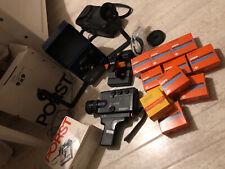 Konvolut Movexoom 6 PORTS Filmbetrachter Super 8 Klebepresse Kamera Filme Agfa