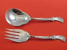 Berain by Wallace Sterling Silver Salad Serving Set 2pc Custom Made