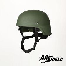 AA Shield Bulletproof ACH MICH Tactical Helmet Aramid Safety Armor Lvl IIIA OD