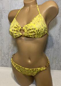 victoria's secret bikini multi colored size S/P Retired Nylon Spandex Swimsuit