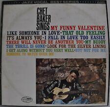 Chet Baker Sings Japan LP Toshiba WP-8386 Insert