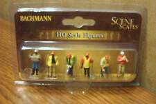 BACHMANN SCENE SCAPES CIVIL ENGINEERS HO SCALE FIGURES