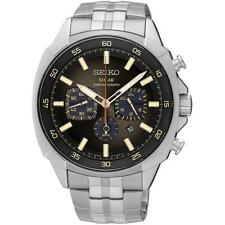 Seiko SSC511P9 Gents Recraft Stainless Steel Solar Powered Chronograph Watch