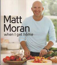 Matt Moran  When I Get Home  Mini Cookbook  The Taste Collection
