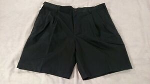 NWT Jos. A. Bank Travelers Collection Shorts Mens Size 40 Pleated Black Non-Iron