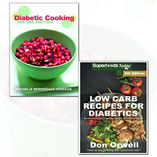 Low Carb Recipes For Diabetics and Diabetic Cooking 2 Books Collection Set Pack