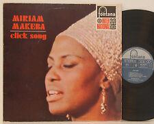 Miriam Makeba Click Song FONTANA NM # P