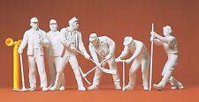 Preiser 45182 1:22,5 LGB; Gleisbauarbeiter (unbemalt)