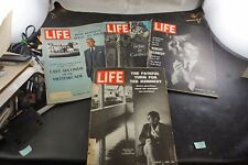 4 Life Magazine Kennedy Family Lot Jackie Kennedy Robert Kennedy Ted Kennedy