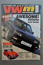 R&L Mag: VW motoring Sept 2000 Golf Ralleye/Polo/Bug Jam/Karmann Ghia