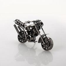 Scrap Metal Art Handmade Nuts and Bolts Dirt Bike Motorbike Model Motorcycle