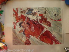 RARE Print of The Great Gordie Howe1972 Great Moments In Canadian History