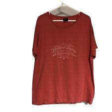 Men's Pink Polo Ralph Lauren T-Shirt Cotton Size Large