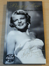 PEGGY LEE-THE SINGLES COLLECTION.COMPLETE 4CD/BOOK/CAPITAL BOX SET.GREATEST HITS