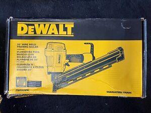 "*NEW* DEWALT DWF83WW 2-3.25"" 28 DEGREE WIRE WELD FRAMING NAILER"