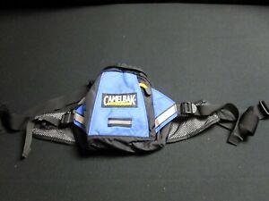 Camelback Flashflo Blue Black Nylon Zip Up Fanny Pack Pouch Waist Bag~8804