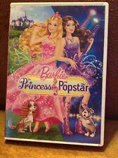 Barbie: The Princess & The Popstar DVD