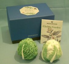 WEDGWOOD Chelsea Garden Cauliflower/Cabbage Cruet Set New B/China GARDENER GIFT