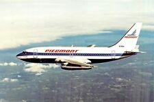 PIEDMONT AIRLINES BOING 737-200 Airline Airplane Postcard