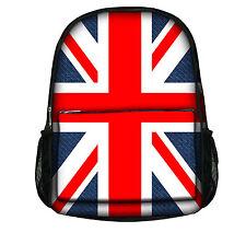 Luxburg® DESIGNER Backpack Rucksack School Gym Travelling Bag. Different Designs Union Jack Universal