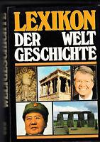 WELTGESCHICHTE Lexikon  farbig illustriert (1977) Leinen wie neu <<<<<<<<<<<<<<<