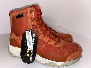 Under Armour Valsetz Cordura Orange Boots 3022289-600 Men's Sz 7/Womens 8.5