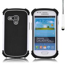 Cover e custodie semplici bianchi modello Per Samsung Galaxy S Plus per cellulari e palmari