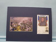 Mexican War Hero Zachary Taylor wins Battle of Buena Vista & First Day Cover