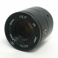 "8mm / F1.4 HD 3MP 1/2.5"" Inch IR Night Vision Lens for CCD CCTV Security Camera"