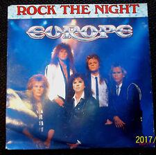 "EUROPE Vinyle 45 T  2 Titres "" Rock the nigtht "" EPIC"