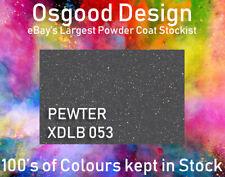 PEWTER METALLIC MATT XDLB 053 1kg Powder Coat Coating Alloy Wheel REFURB