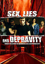 Sex, Lies and Depravity (DVD, 2013) *SEALED* Brand New DARK/SEXY