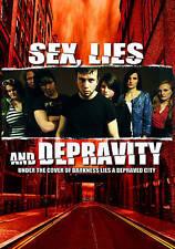 Sex, Lies and Depravity (DVD, 2013) *SEALED* Brand New DARK/SEXY