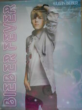 JUSTIN BIEBER POSTER BRACELET STICKERS BIEBER FEVER FAN CLUB PACK