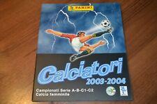 2003-04 Panini Calciatori 2003-2004 03 04: empty album. Mint Condition.