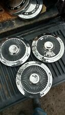1963 to 1966 Ford Galaxie427 and f100 truck dog dish hubcaps