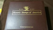 COMPLETE HISTORIC STAMPS OF AMERICA POSTAL COMMEMORATIVE SOCIETY NO ADDRESSEE
