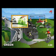 """Portugal 2016 - EUROPA Stamps """"Think Green"""" s/s - MNH"""