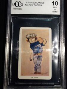 1979  Venorlandus    Golf    Tom Watson #23      BCCG 10 MINT    #0001072834